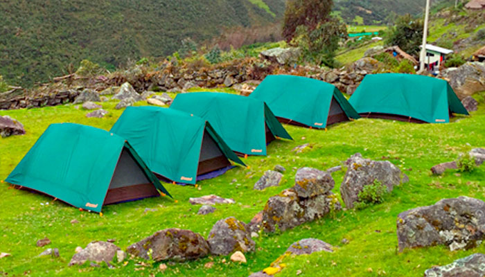 Camping Equipment for the Inca Trail to Machu Picchu