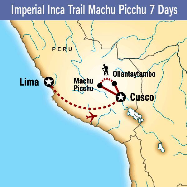 Imperial Inca Trail Machu Picchu
