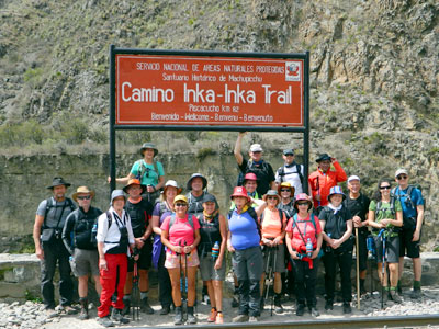 Standard Inca Trail Trek