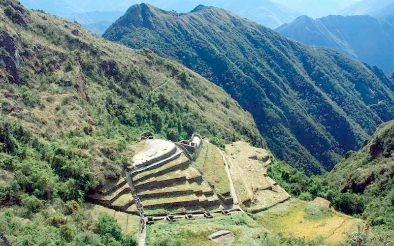 Phuyupatamarka Inca Ruins